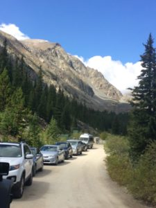 Trailhead Parking (Breckenridge, CO, Sept./2016)